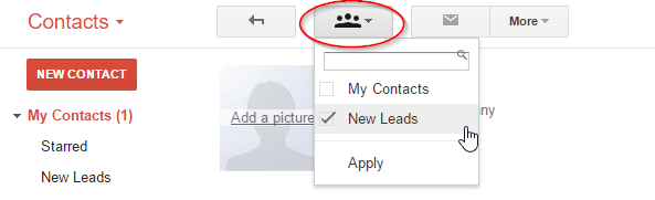 Gmail CRM - Contact Manager