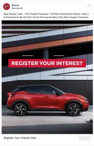 Nissan-Facebook-Lead-Ad