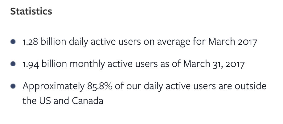 Facebook Messenger Ads - Stats