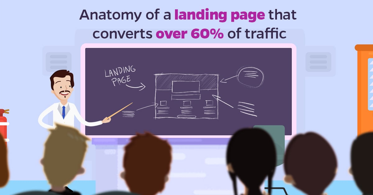 Anatomy of a Landing page that converts over 60% of traffic
