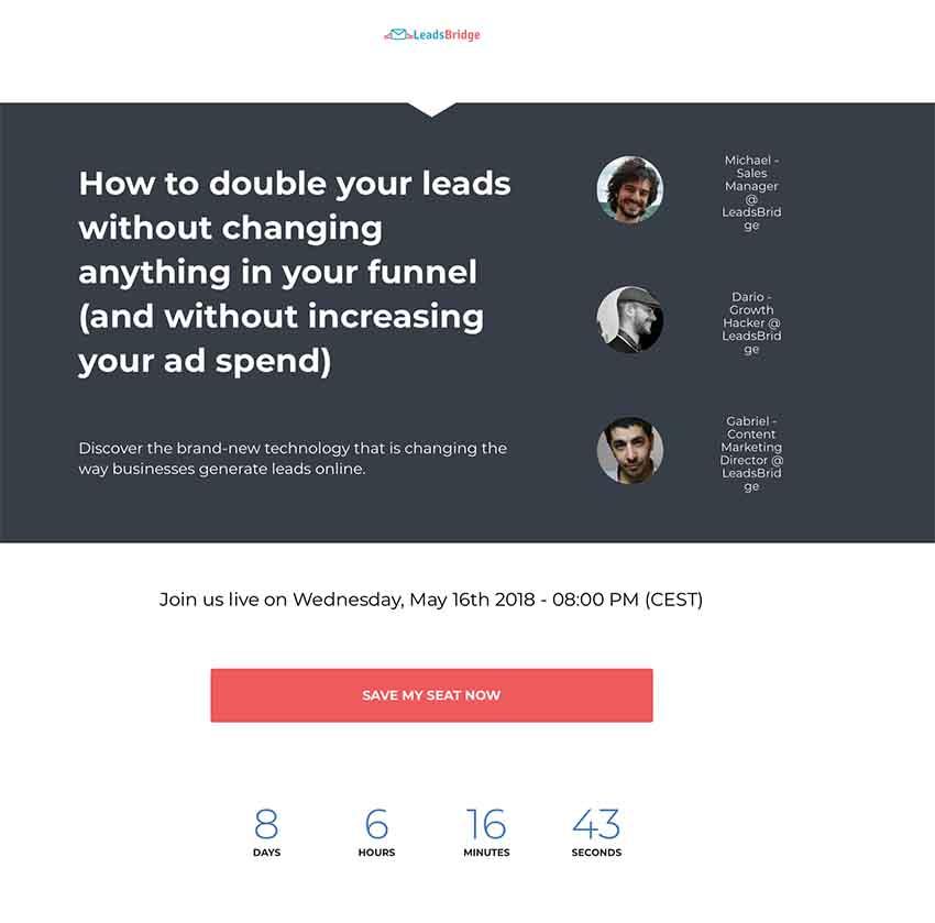 webinar leads
