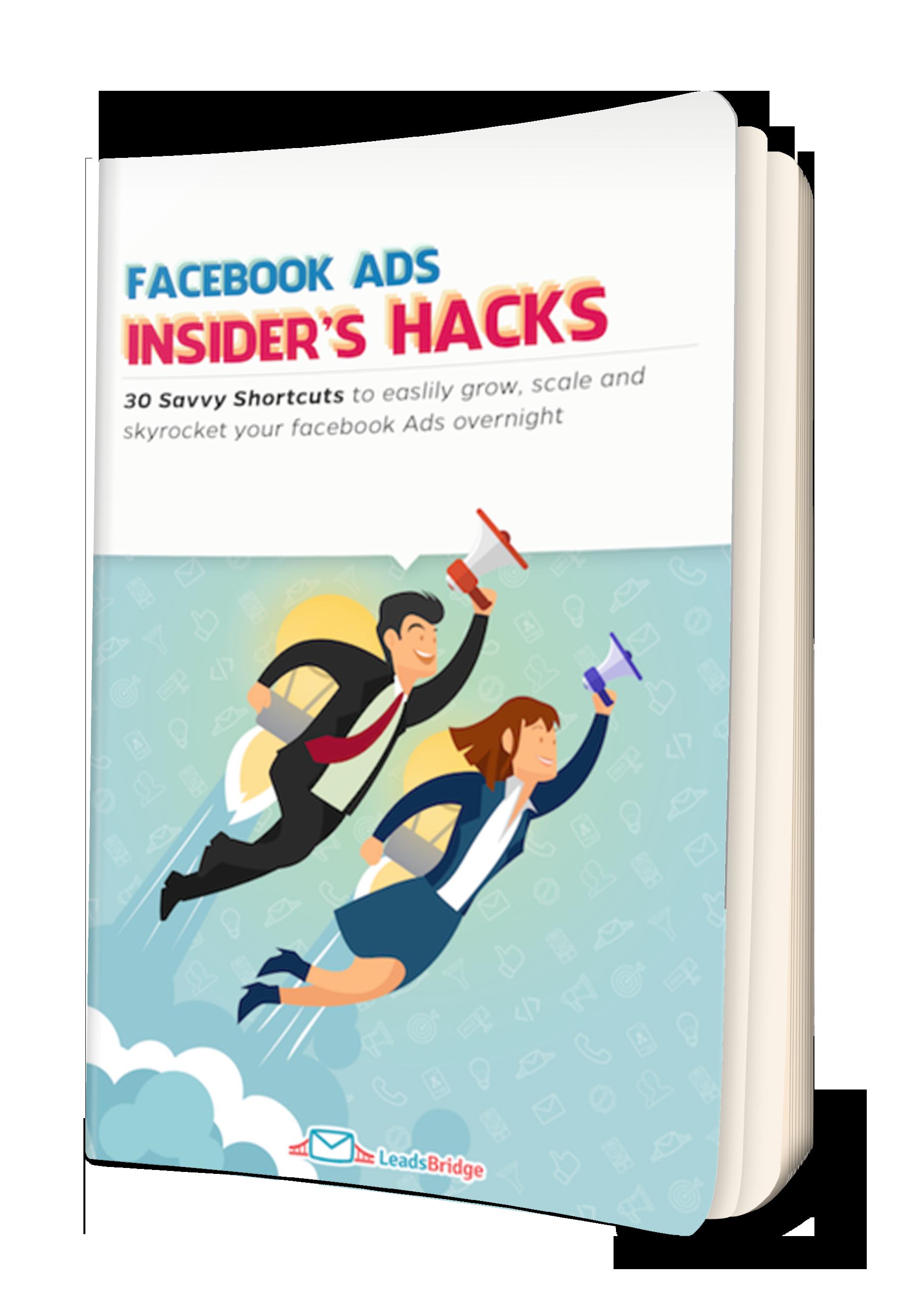 cover ebook facebook ads insider hacks