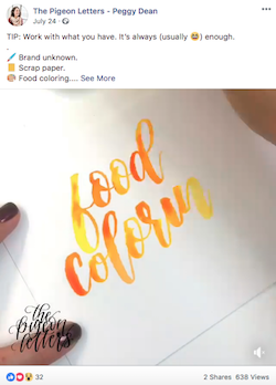 facebook post ideas for small business