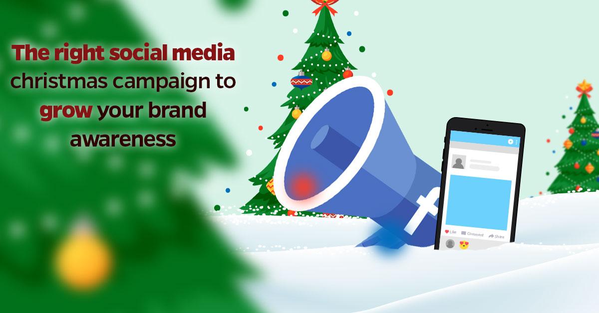 social media Christmas campaign