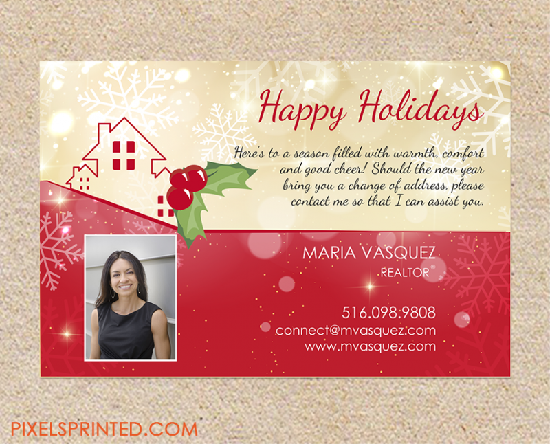 Christmas real estate card 1