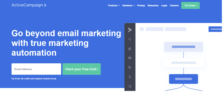 Company Website Email Marketing Active Campaign