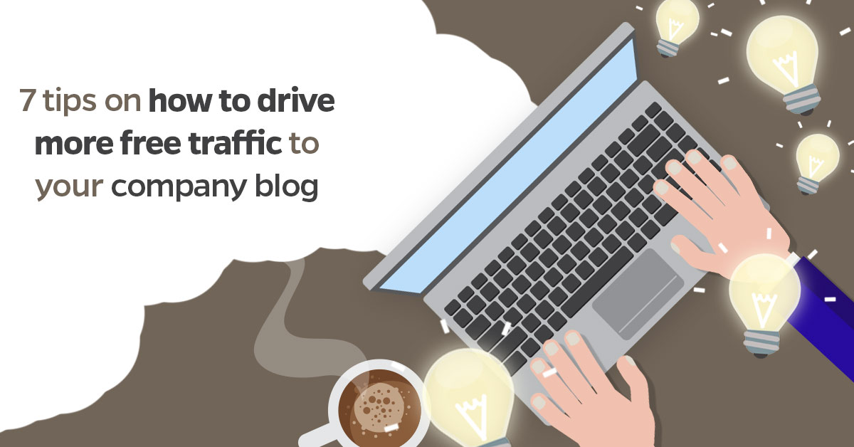 t how to drive traffic to your blog