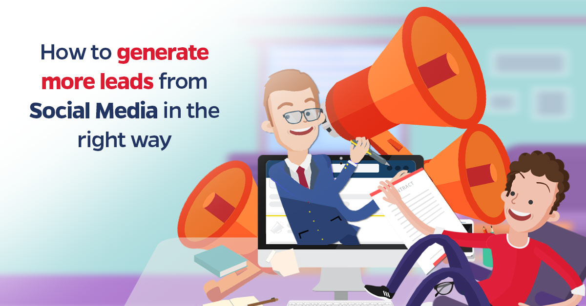 ways to generate leads with social media