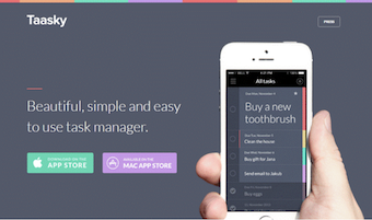 product launch landing page