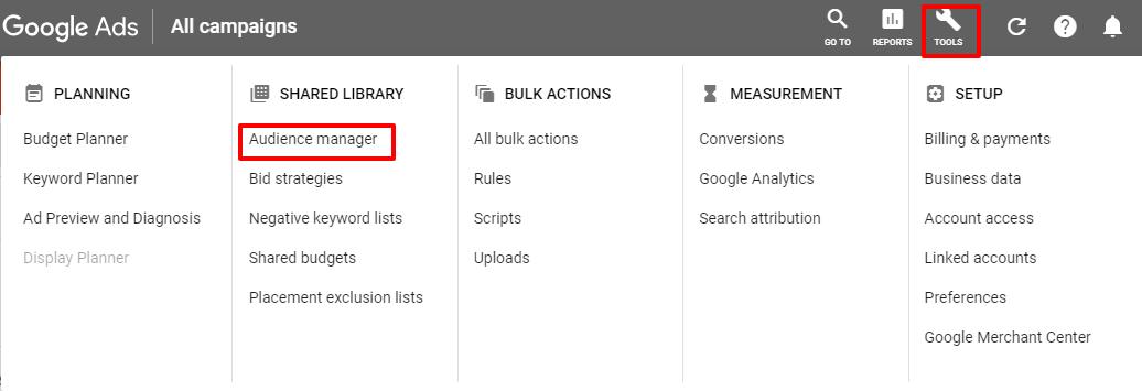 Remarketing degli annunci Google