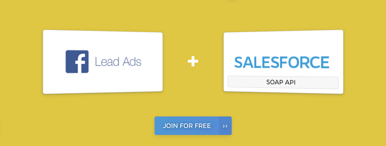 facebook lead ads integrations with salesforce