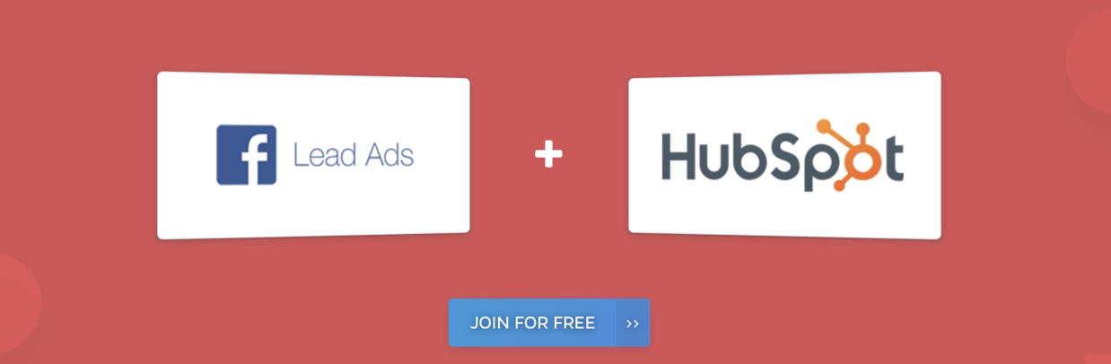 facebook lead ads integrations with Hubspot