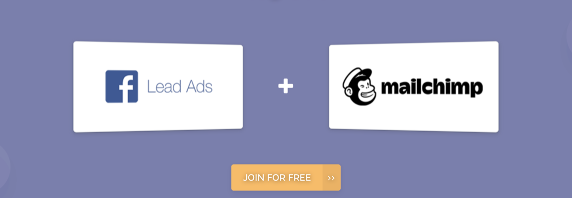 facebook lead ads integrations with miailchimp