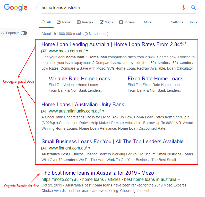 Home loan google1