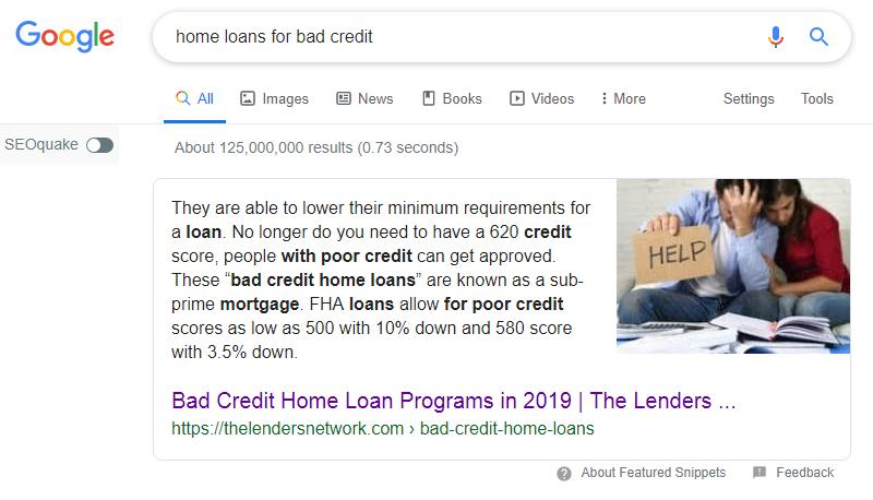 Home loan google 2