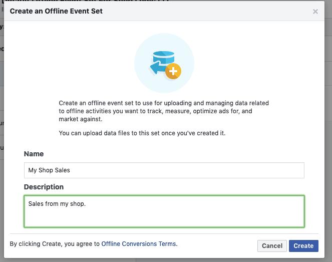 Facebook offline conversions