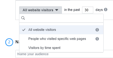 Website audience 2