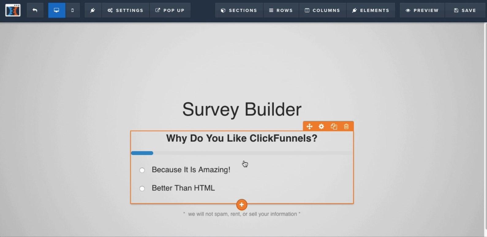 survey builder