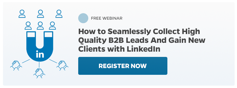 Register Now to the free LinkedIn webinar
