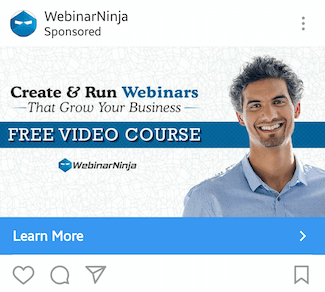 instagram-landing-page-webinar-ninja-ad