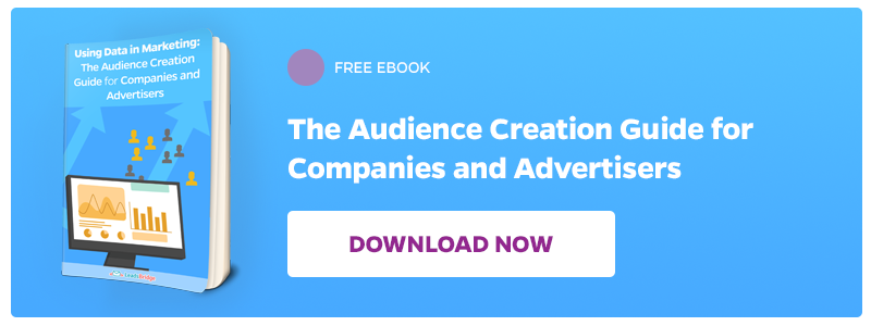 Download now the free Audience Creation Guide for Companies and Advertisers