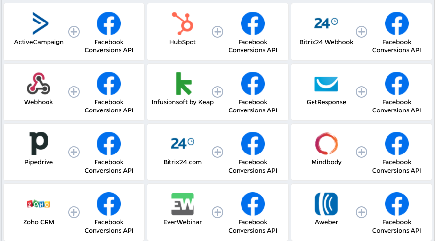 Facebook conversion API