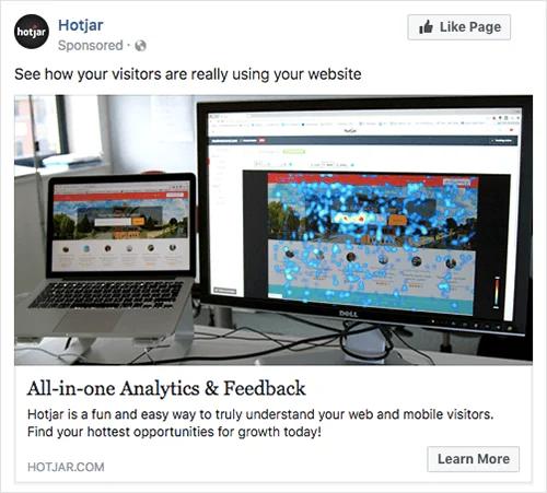 hotjar-b2b-facebook-ad