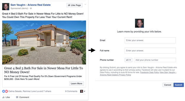 Facebook-Lead-Ad-Real-Estate-Example